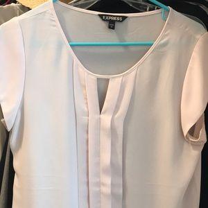 Express Key Hole short sleeve blouse